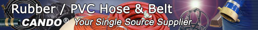 Rubber / PVC Hose & Belt, CANDO: Your Single Source Supplier